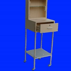 Urine Test Cabinet and Trolley