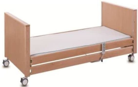5 Function Electric Care Bed - Wooden Siderails