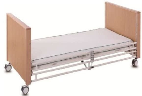 5 Function Electric Care Bed - Steel Siderails