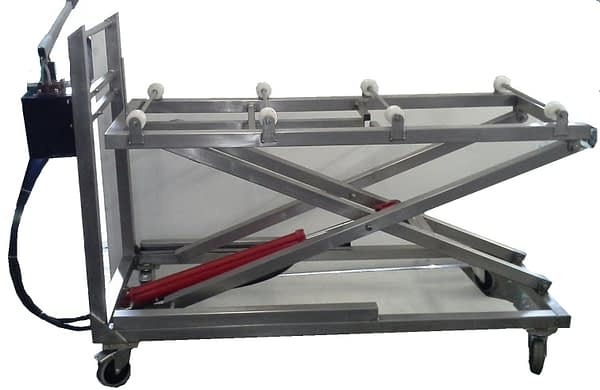 Mortuary Stacker Trolley